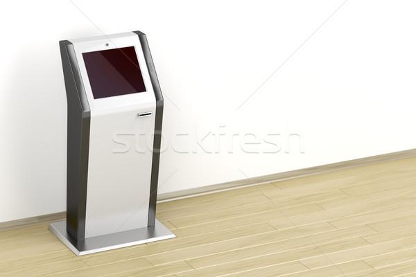 Interactive information kiosk Stock photo © magraphics