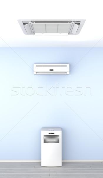 空気 異なる 壁 携帯 クール エレクトロニクス ストックフォト © magraphics