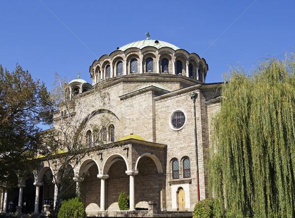 Templom szent Szófia Bulgária építészet antik Stock fotó © magraphics