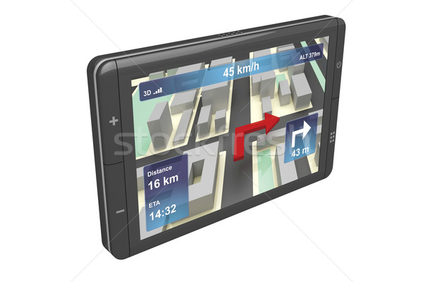 GPS navigator Stock photo © magraphics