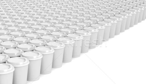 Paper coffee cups  Stock photo © magraphics