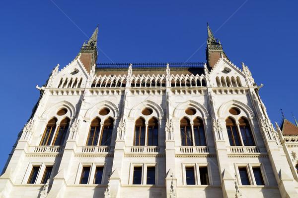 Ungherese parlamento costruzione Budapest Foto d'archivio © magraphics