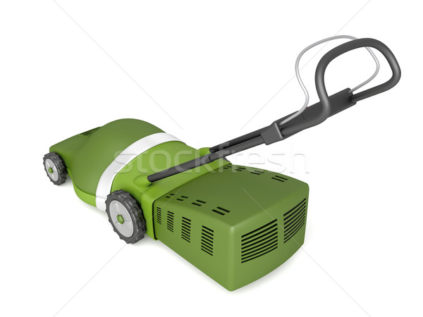Green lawn mower Stock photo © magraphics