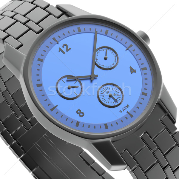 クローズアップ 表示 時計 3D レンダリング 画像 ストックフォト © magraphics