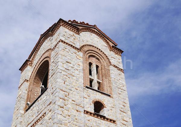 Saint Panteleimon church, Plaosnik Stock photo © magraphics