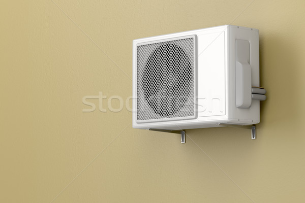 Outdoor unit of air conditioner Stock photo © magraphics