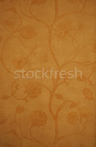 старые обои цветочный закрывается стены Сток-фото © mahout