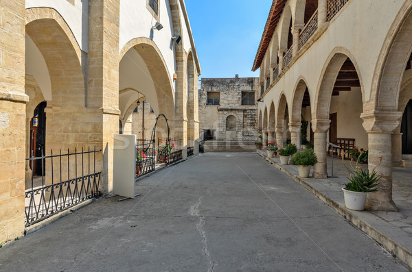 Orthodox monastery on Cyprus Stock photo © mahout