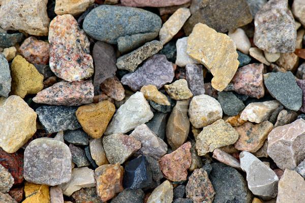 Természetes sóder természet háttér kő kő Stock fotó © mahout