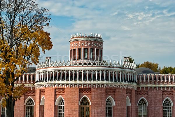 Ladrillo parque Moscú Rusia edificio Foto stock © mahout