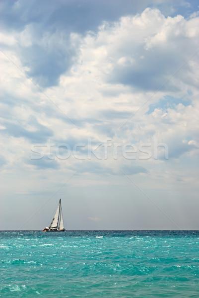 Sailing boat Stock photo © mahout