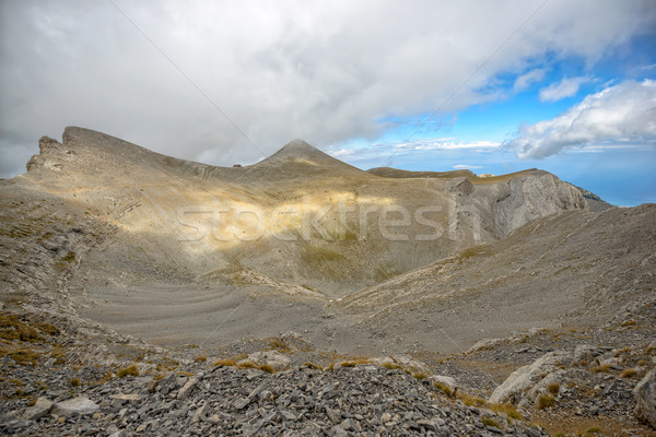 Olympus ridge in Greece Stock photo © mahout