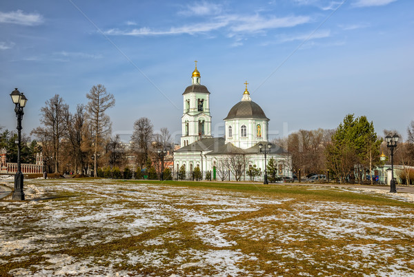 Church in Moscow park Stock photo © mahout