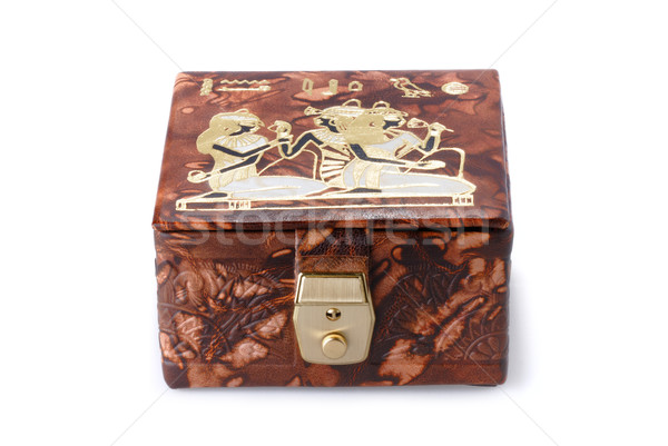 Egyptian casket Stock photo © mahout