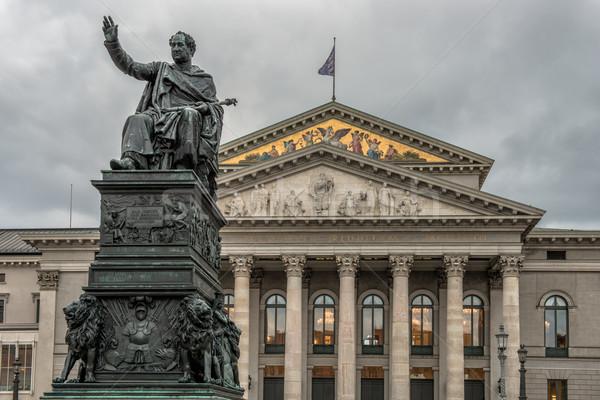 театра Мюнхен квадратный центральный город путешествия Сток-фото © mahout