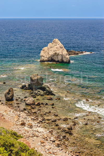 Mar costa paisaje playa belleza Foto stock © mahout