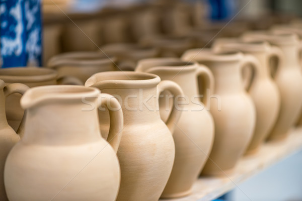 Close-up view of ceramic dishware Stock photo © mahout