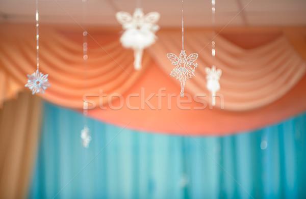 Férias feliz fundo inverno natal fundos Foto stock © mahout