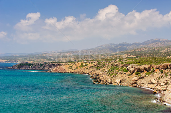 Península Chipre parque paisagem mar beleza Foto stock © mahout
