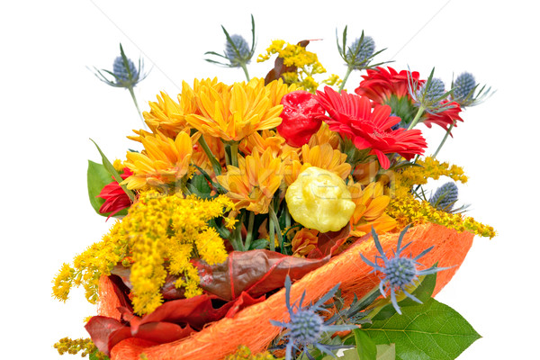 Flower bouquet isolated on white Stock photo © mahout