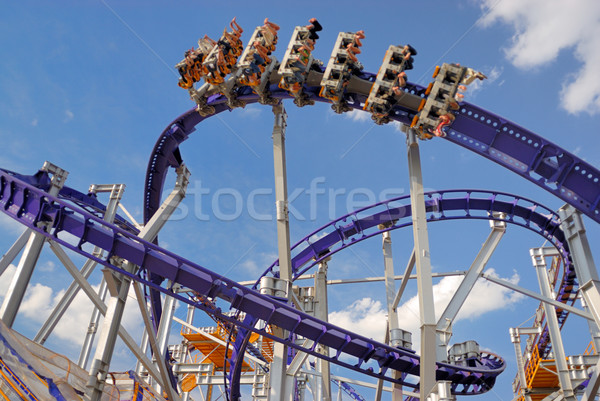 Roller coaster Stock photo © mahout