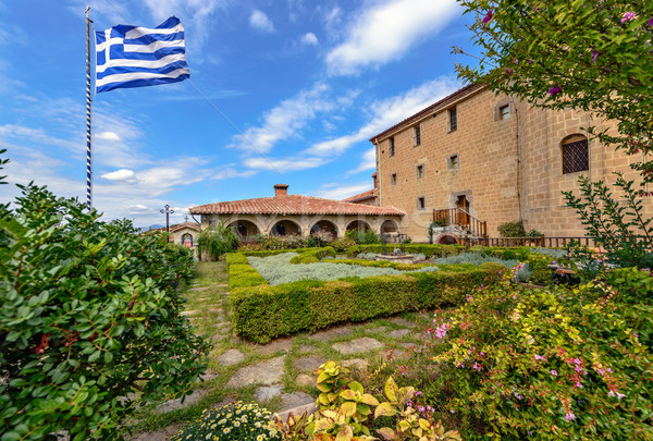 Meteora Agio Stefano monastery in Greece Stock photo © mahout