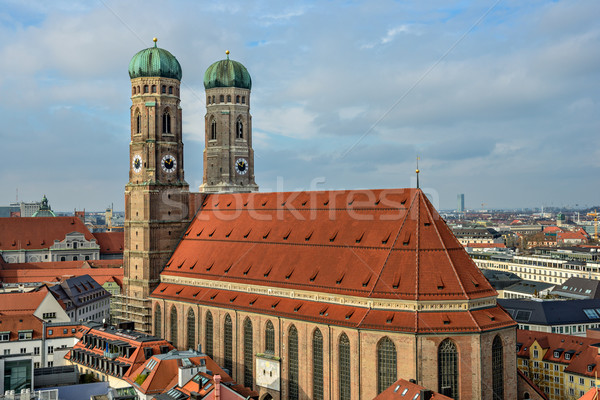 Cathedral Frauenkirche in Munich, Bavaria Stock photo © mahout