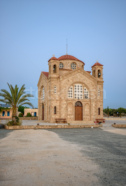 Agios Georgios church on Cyprus Stock photo © mahout