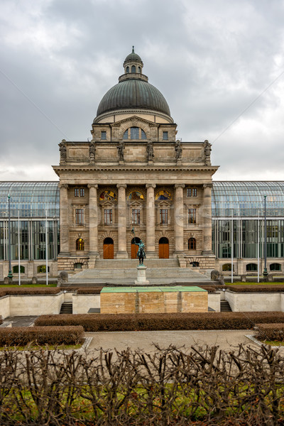 Bavarian State Chancellery building in Munich Stock photo © mahout