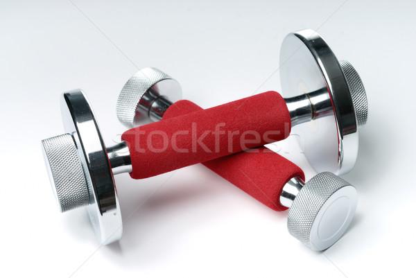 Mano blanco deporte fitness rojo músculo Foto stock © mahout