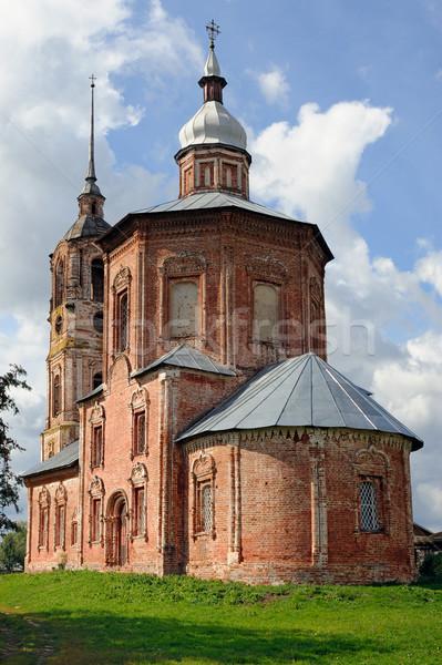 Edad ruso ortodoxo iglesia ciudad cielo Foto stock © mahout