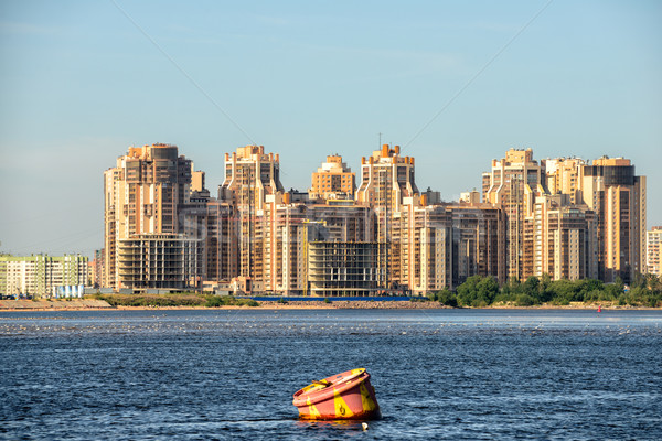Residential district in St. Petersburg Stock photo © mahout