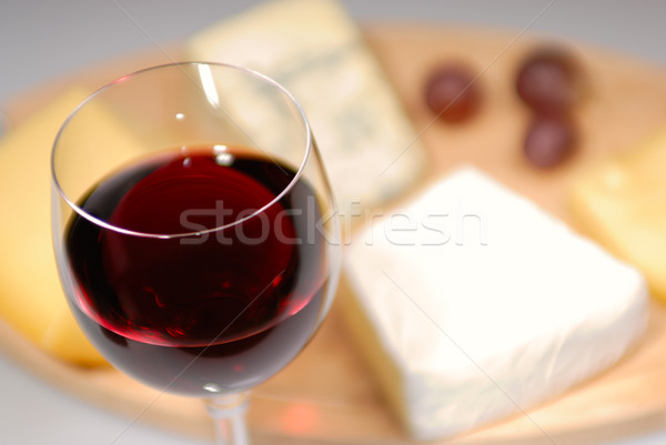 Wine and cheese Stock photo © mahout