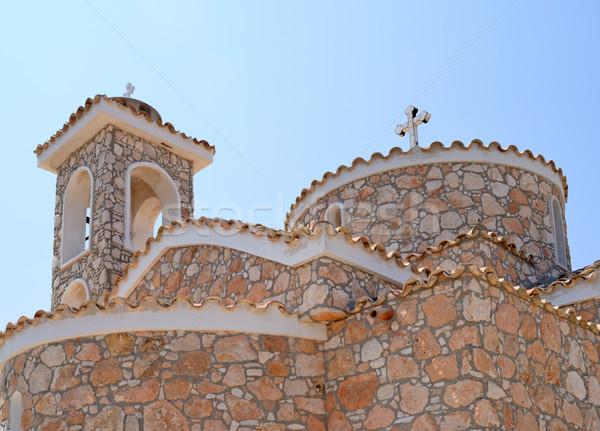 Edad ortodoxo iglesia piedra verano arquitectura Foto stock © mahout