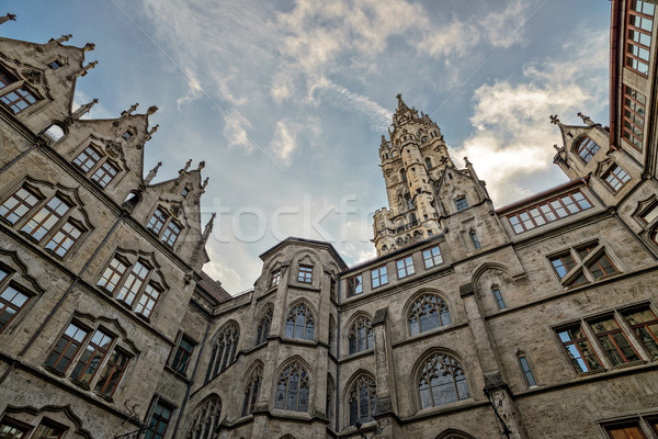 City hall in Munich, Germany Stock photo © mahout