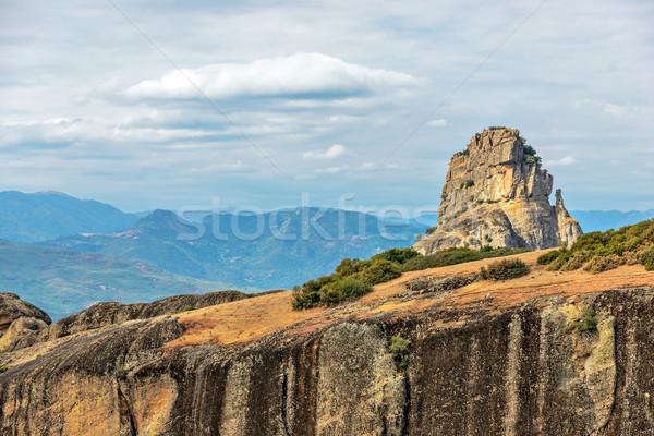 Griekenland mooie landschap schoonheid berg Stockfoto © mahout