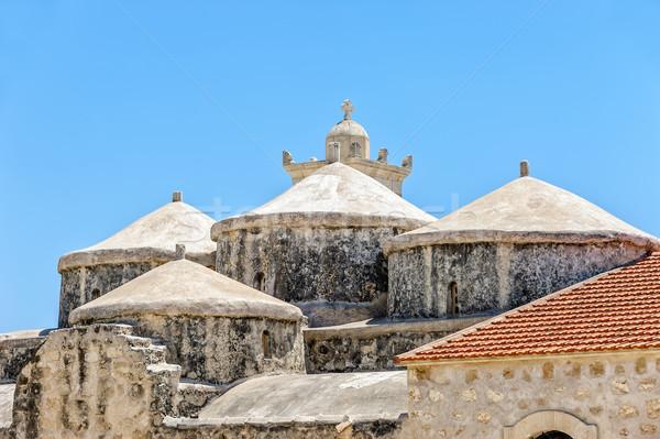 Церкви Кипр крыши путешествия поклонения архитектура Сток-фото © mahout