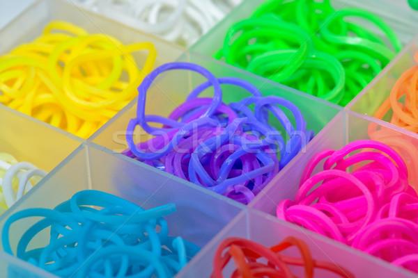 Flexível arco-íris ver moda caixa Foto stock © mahout