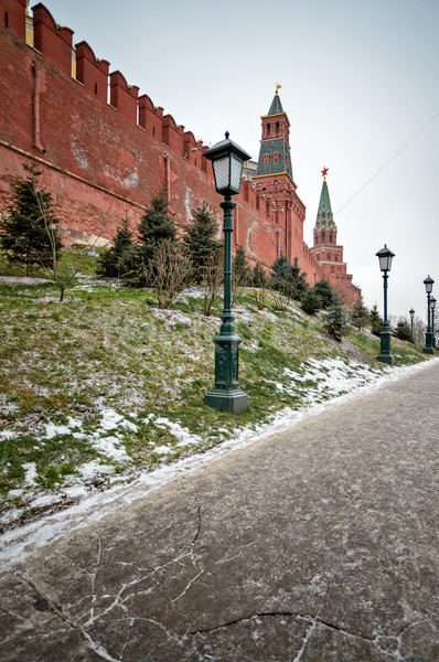 Moscow Kremlin wall Stock photo © mahout
