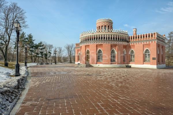 Pavilion in Tsaritsino park. Moscow Stock photo © mahout