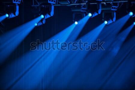 青 ステージ 1 方向 光 ストックフォト © mahout