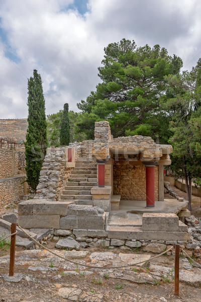 Knossos palace on Crete, Greece Stock photo © mahout