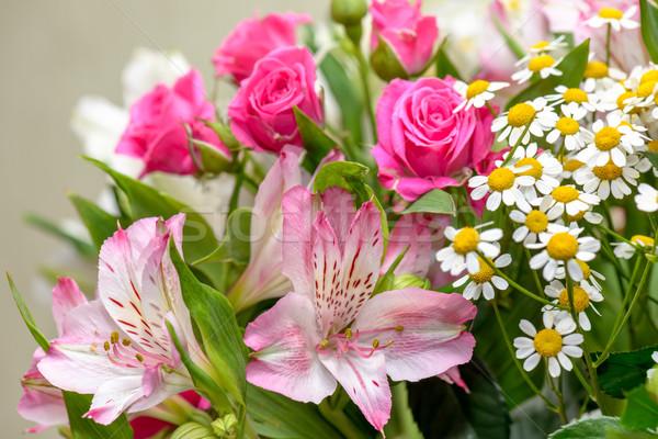 Flowers bouquet Stock photo © mahout