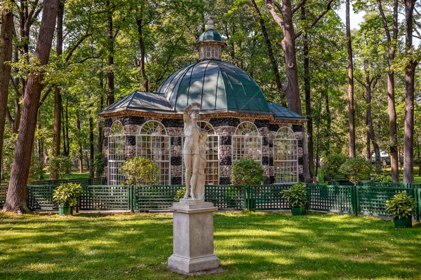 Aviary in Peterhof Lower Park Stock photo © mahout