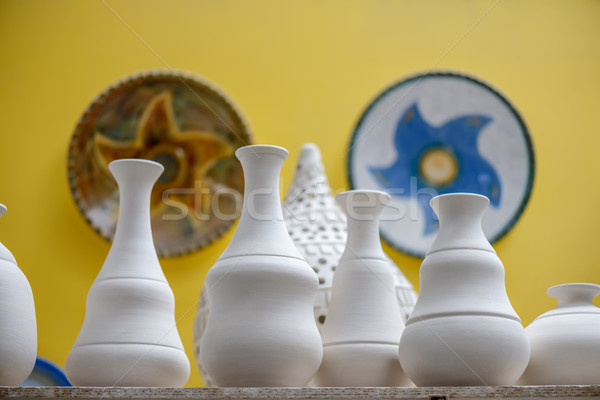 Ceramic dishware Stock photo © mahout