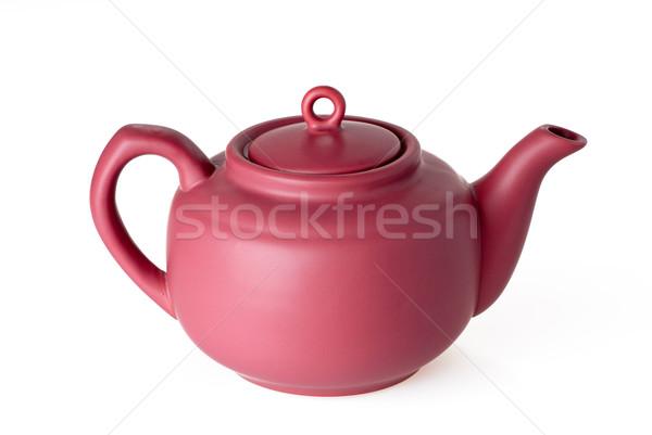 Ceramic teapot Stock photo © mahout