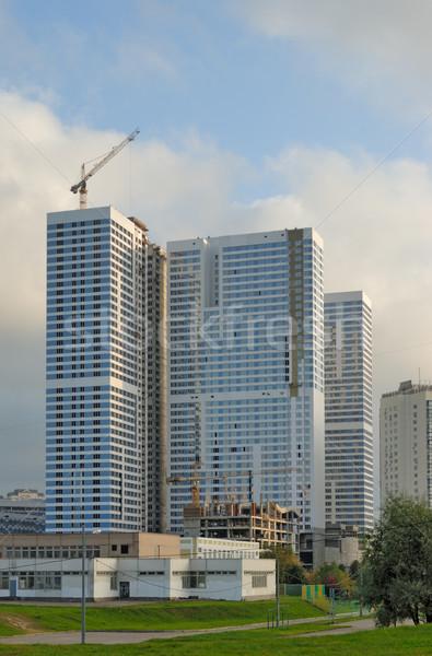 épület összetett égbolt város otthon technológia Stock fotó © mahout