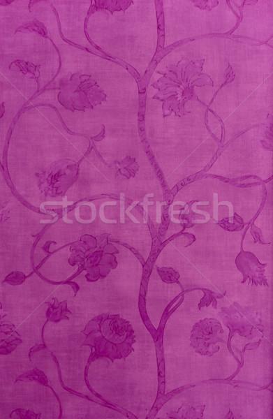 Floreale rosa muro abstract sfondo Foto d'archivio © mahout