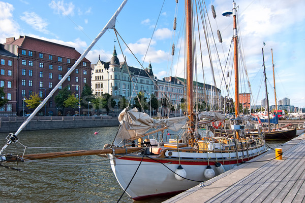 Embankment of Helsinki.  Stock photo © maisicon