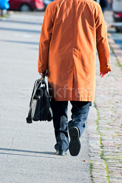человека портфель снизить деловой человек стороны Сток-фото © maisicon